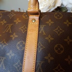 Louis Vuitton Bags - SOLD@! Auth. Louis Vuitton keepall Mono 45 Carry_
